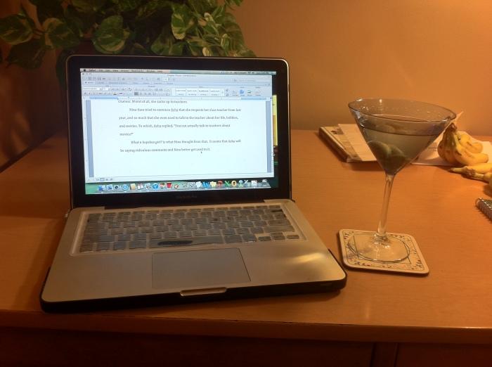 laptop martini